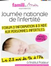 Journée nationale de l'infertilité
