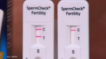 Source BFM TV Le SpermCheck Fertilité est déjà en vendre aux Etats-Unis et en Grande-Bretagne. - © Capture d'écran
